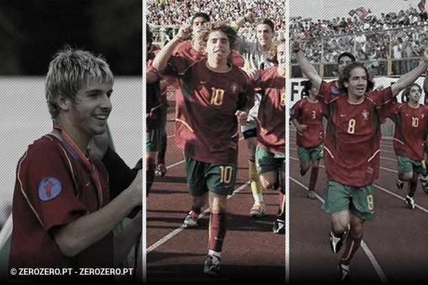 68ef6d6289 18 portugueses campeões europeus de sub-17 em 2003  O que é feito ...