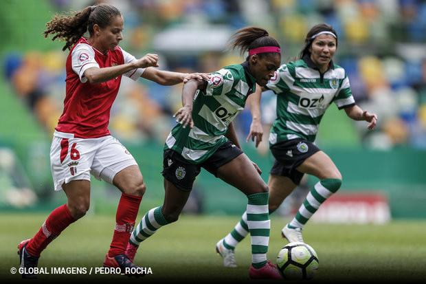 1447c5cd81 O Estádio Nacional reabre as suas portas para a festa do futebol feminino  português. Sporting e SC Braga reeditam a final do ano passado no Jamor