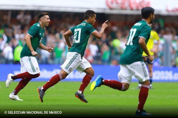 México derrota Escócia pela margem mínima  Herrera b9857b24408ee