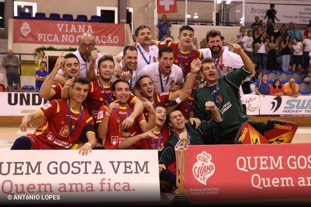 A Espanha sagrou-se campeã da Europa de sub-20 em Viana do Castelo após  bater a Itália na final da competição por 3x2.Trata-se da reconquista do  título ... c17c71462c9d0