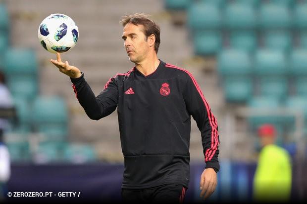 Não está fácil a vida de Julen Lopetegui no Real Madrid. Depois de perder a  Supertaça Europeia contra o Atlético de Madrid 5e1b7415d4ac5