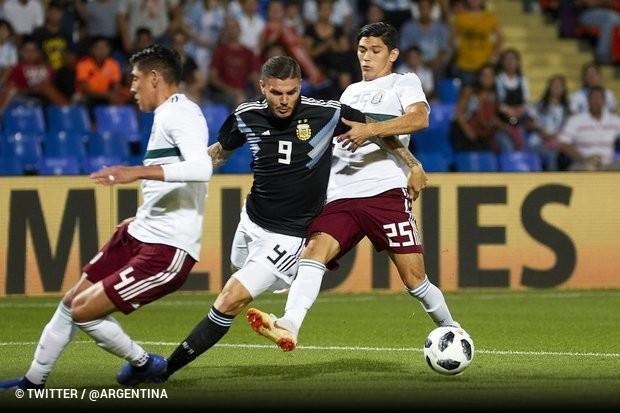 0c7f3a6e7c7 Após se ter estreado a marcar ao serviço da Argentina