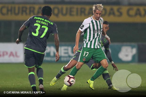 O jogador do Rio Ave falou no final da partida frente aos leões e teve uma  prestação incomum e bastante curiosa 0007fa90c56a5