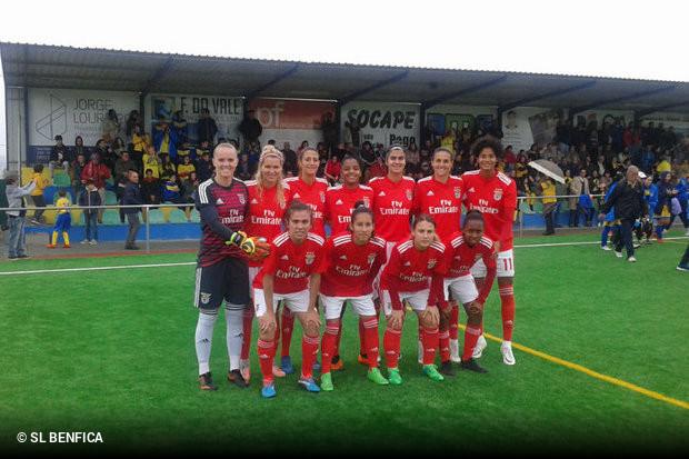 b90c9dc2a6 Futebol Feminino  159 golos marcados e zero sofridos! É este o saldo do  Benfica em nove jogos