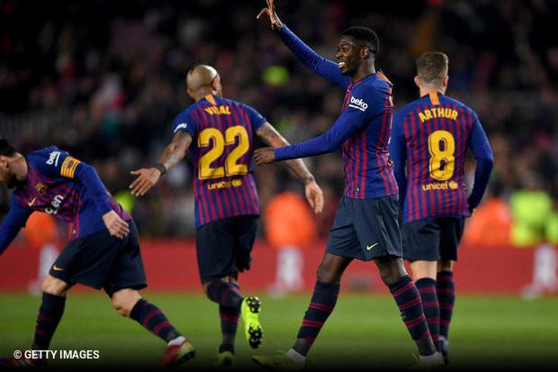 Havia uma desvantagem para anular e mesmo assim poucos duvidavam que o  Barcelona fosse seguir em frente na Taça do Rei. Desta vez 7fcef25379984