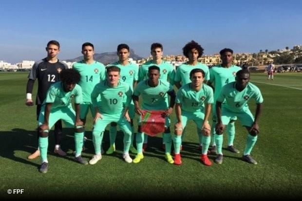 A seleção nacional de sub-18 começou o Torneio Internacional de La Manga  com uma goleada por 4x1 sobre a Polónia. Félix Correia foi o grande  destaque da ... 05a8acb9659cc