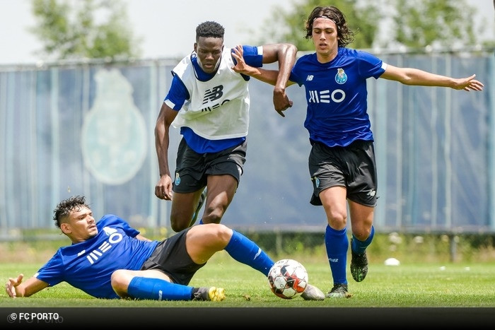 As fotos do primeiro treino da temporada do FC Porto